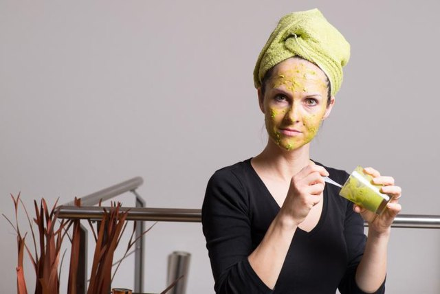 Avocado makes an excellent base for moisturizing face masks.