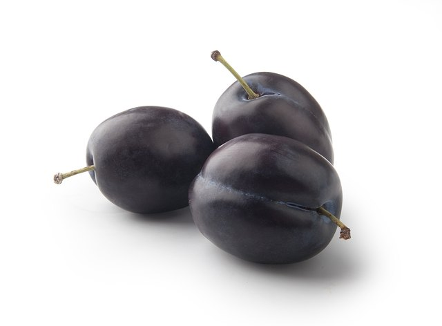 Plums are an ideal fruit.