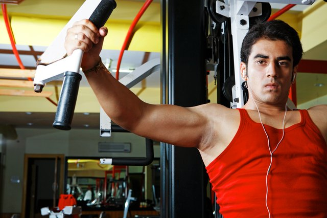 Weight machines can be good alternatives to free weights.