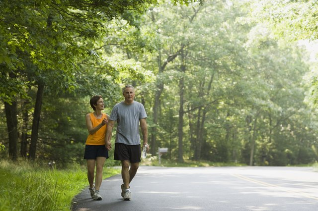 Walking is the most convenient way to lose weight when you're over 50.