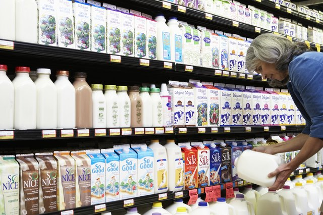 Add locally produced dairy products to your diet.