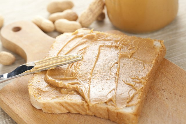 Peanut butter can thicken stool and provide needed sodium.