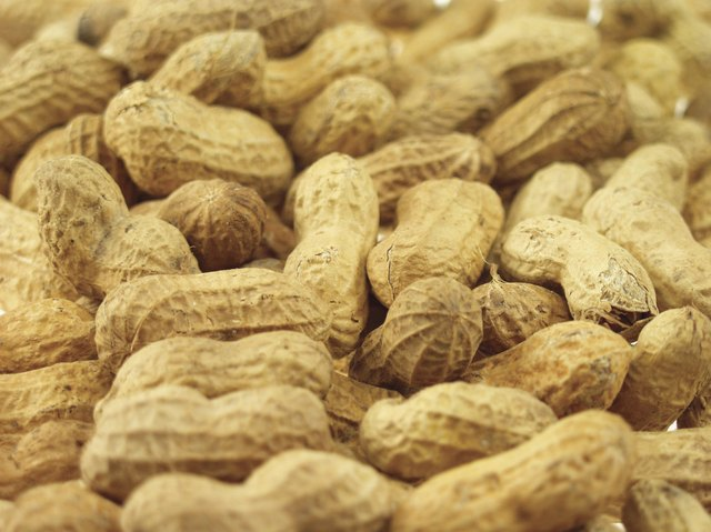 Glycemic index of peanuts