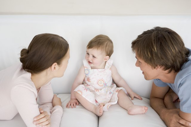 A baby's genetic make-up plays a large role in her body type and growth rate.