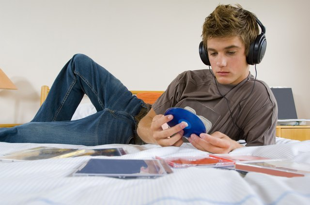 Listening to music may calm a teen down.