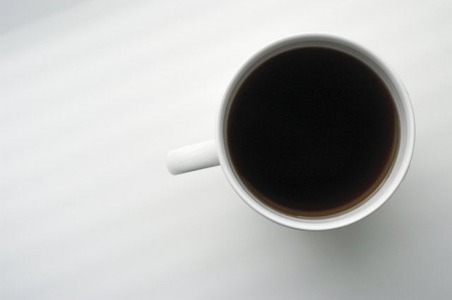 Caffeine found in coffee, tea and sodas is a stimulant that increases heart rate.
