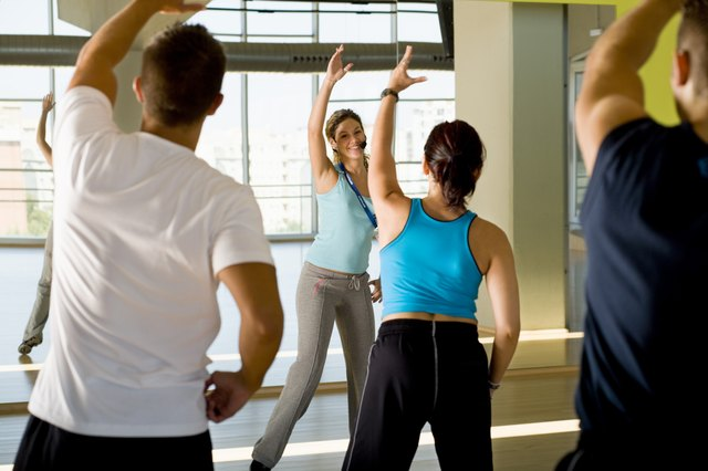 Exercises such as aerobics, work all the muscles of the body.