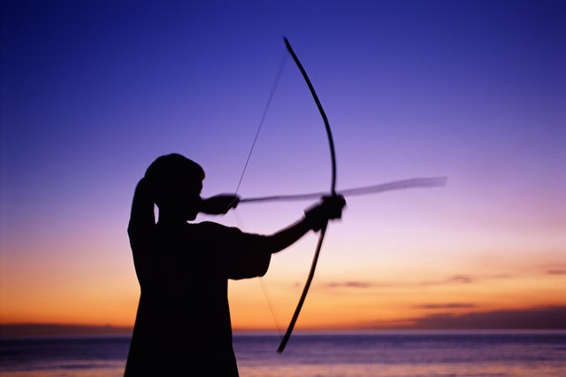 Longbows are the oldest form of bow and have a characteristic D-shape.