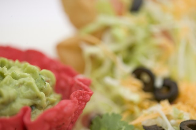 Use leftovers to make a taco salad.