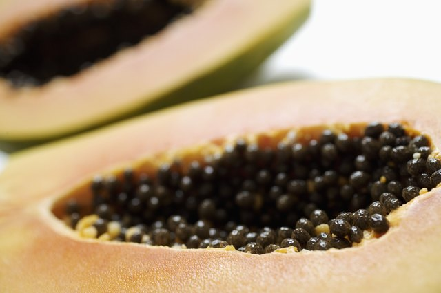 Papaya has been used to heal skin ailments.