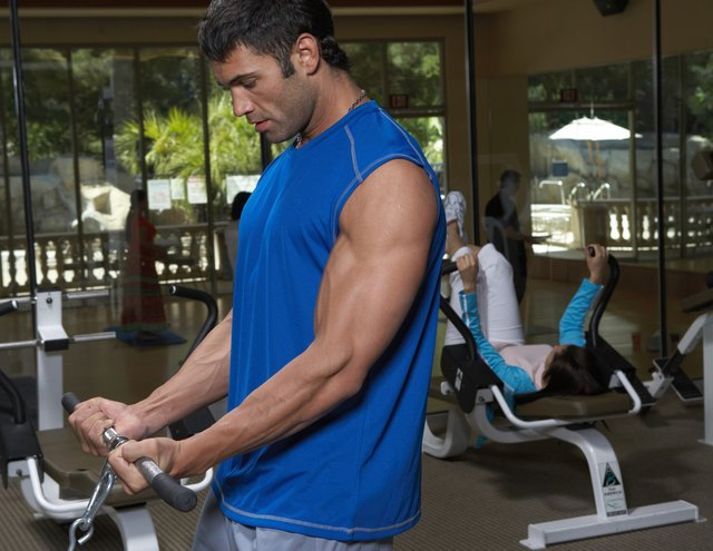 Strengthen your biceps.