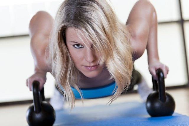 Kettlebell can create more muscle which weighs more.