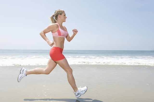 Jogging is a form of cardiovascular exercise.