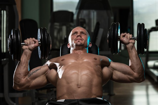 The angled press works your pecs along with the anterior delts.