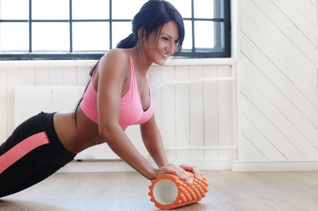 Foam Roller Hip Exercises