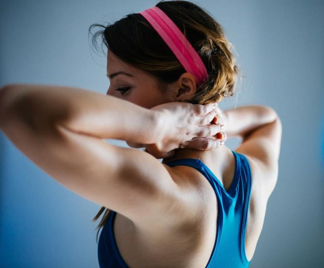 Flexible shoulders are a must for behind-the-neck presses.