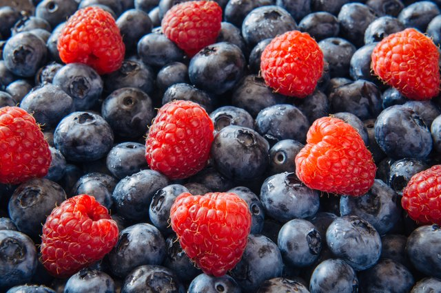 Berries are loaded with antioxidants and fiber
