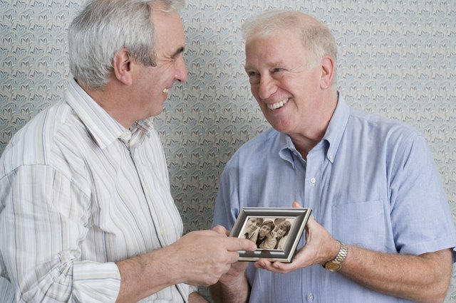 A picture frame that highlights favorite times with grandpa can be a thoughtful gift.