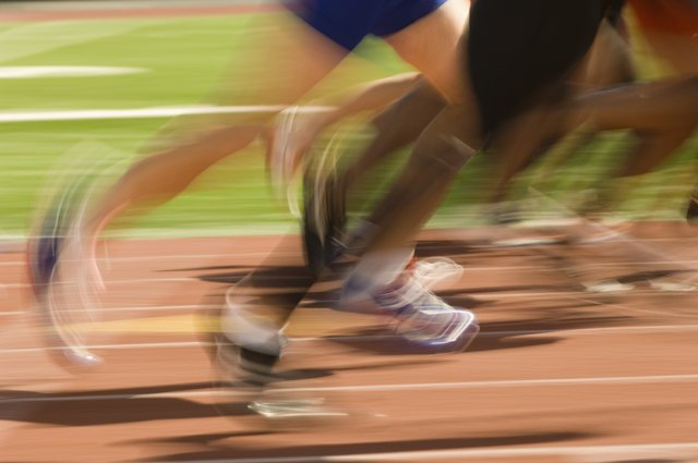 Running on a track can help you easily measure your speed.