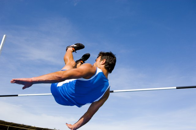 Deep squats prior to a quick high jump is an example of lower-body plyometrics.