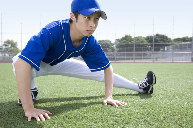 Stretching all of your major muscle groups should be mandatory before and after every game.