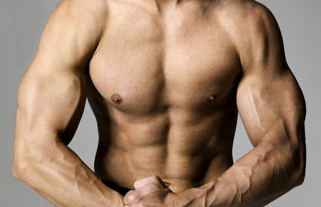 A six-pack is built from four ab muscle groups.