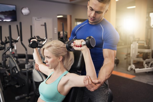 The dumbbell shoulder press is the best exercise for your anterior deltoids