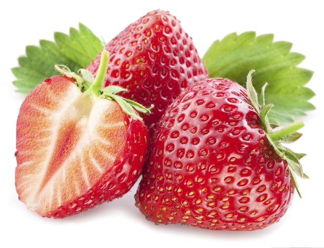 Strawberries contain folic acid.