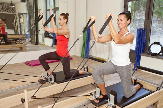 Increasing the resistance on a Reformer can bring on muscle soreness.