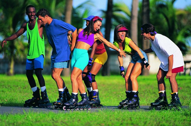 Rollerblading is a rigorous cardio workout that is also fun.