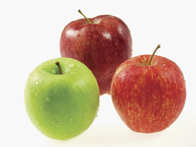 Feingold diet suggests removing apples and then adding them back.