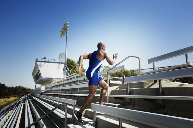 Run up hills or stairs to increase your muscular endurance.