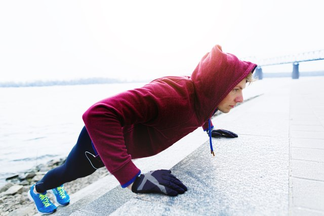The incline push-up is an exercise that travels well.