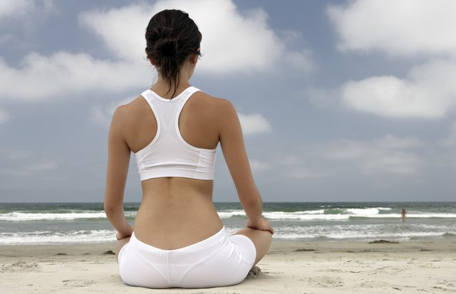 Yoga doesn't burn a lot of calories but it can assist weight loss by boosting your mindfulness when eating.