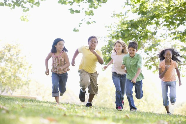 Harness kids natural energy in run training.