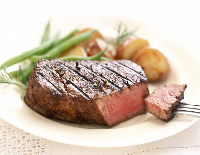 Beef is a source of creatinine.