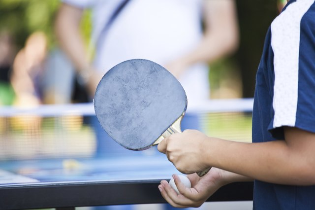 Table tennis is perfect for people who are recovering from sports injuries.