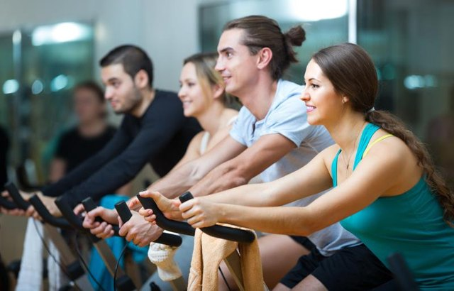 Join an indoor cycling class to keep you motivated.