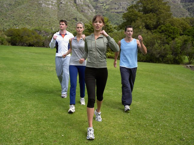 Power walking may be easier on your joints.