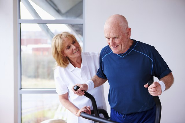 High-intensity cardio exercises such as elliptical training works for some seniors.