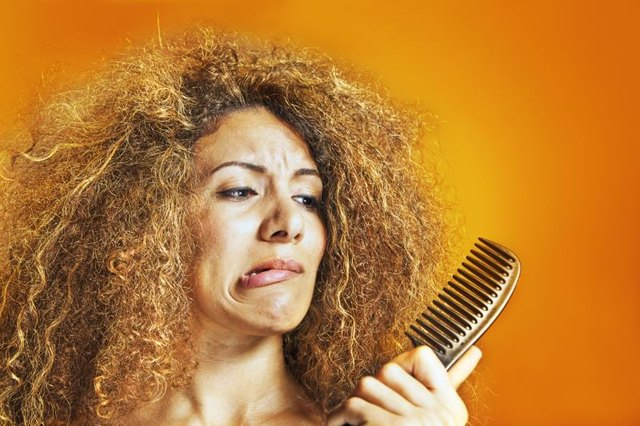 How to Restore Shine to Damaged, Frizzy Hair