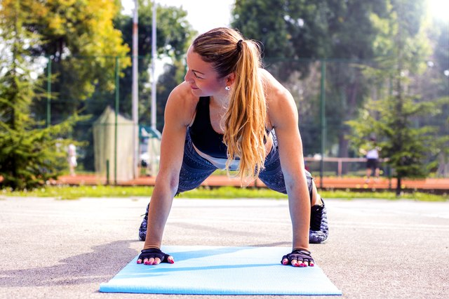 Push-ups are only a part of an upper-body strengthening routine.