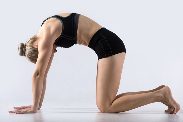 Yoga can decrease shoulder blade pain.