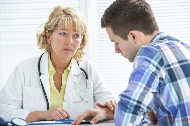 Visit with your doctor to receive a diagnosis.
