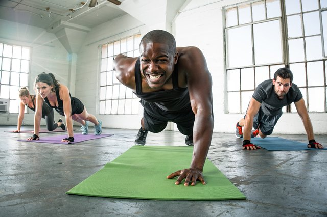 Make push ups harder by doing them one arm at a time.