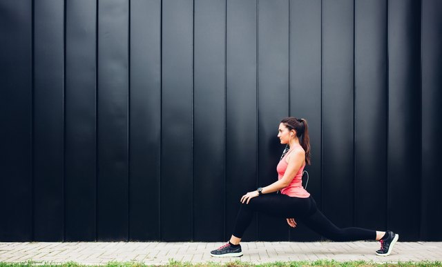 Lunge your way to a toned body.