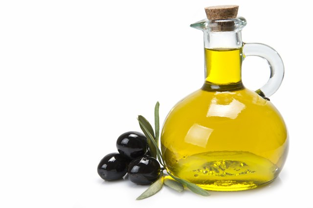 Olive oil is a good fat.