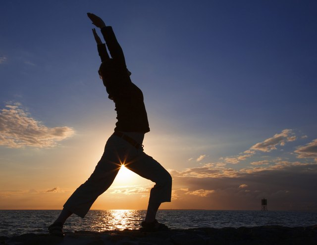 Yoga poses can be performed virtually anywhere.