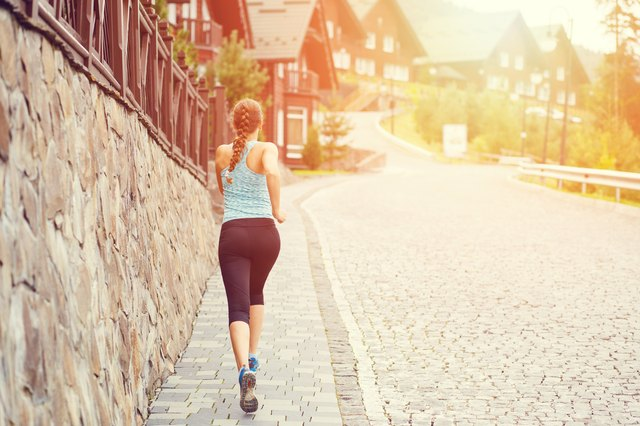 Stay on flat ground, as running hills can cause re-injury.