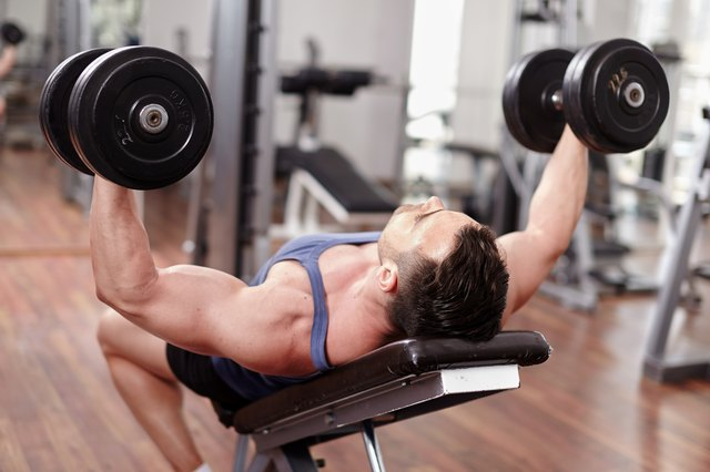 The fly is often done on an incline to hone in on the upper pecs.